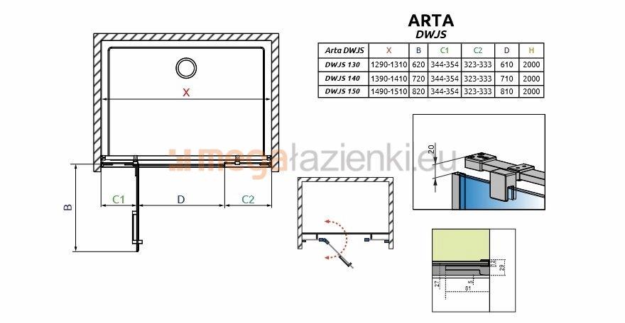 Schemat kabina Arta DKJ I