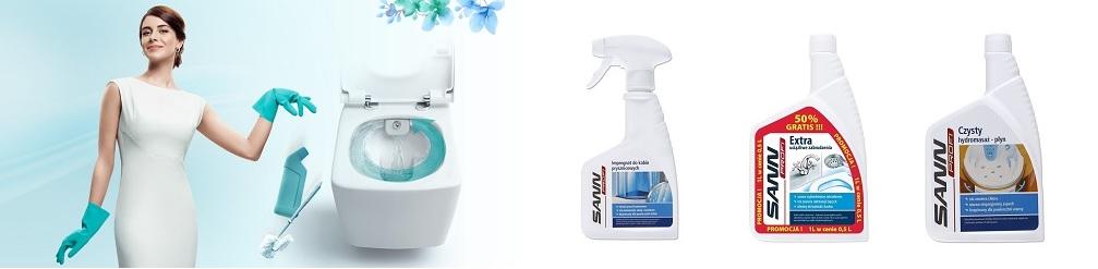 Środki czystości - Sann Profi